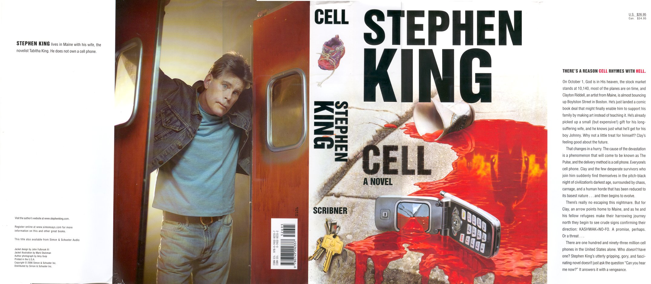 cell stephen king Cell has 163,488 ratings and 5,108 reviews leah said: literary critics can moan all they want about stephen king's penny dreadful oeuvre, but his mast.