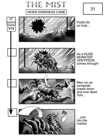 Mist Storyboard art