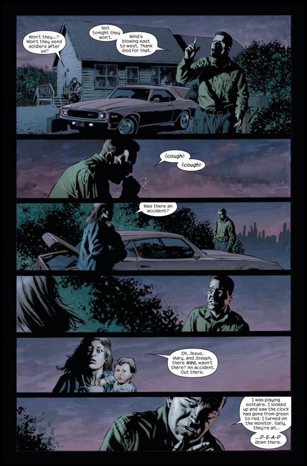 LE FLEAU, en BD, par Marvel Standpreview-2