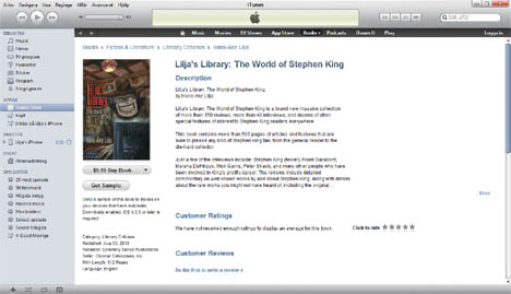 Liljas library the world of stephen king 1996 2018 the limited is sold out the hardback starts to get hard to get but the ebook is still out there check it out if you want the book for a good price fandeluxe Gallery